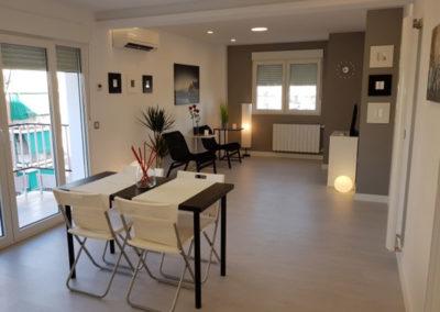 Homestaging de pisos reformados en Madrid